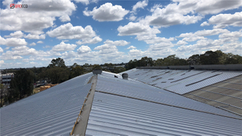 The Sandwich Panel Warehouse Project in Australia