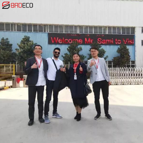 Mr Sami From Israel Visits BRDECO For garage door project