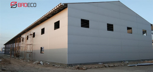 EPS Sandwich Panels Applied In Indonesia TSI Project