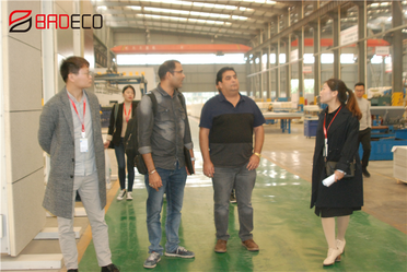 Warmly Welcome Mexico's Customer Mr. Naresh Visit BRD