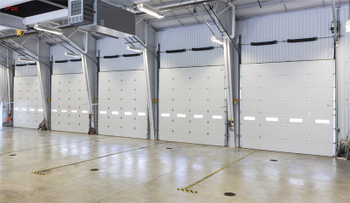 Sectional Industrial Door Project In Sichuan