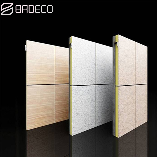 BRD exterior wall insulation integrated panel has taken root all over the world