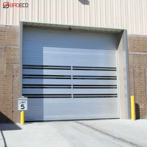Automatic Rolling Shutter Metal High-speed Door