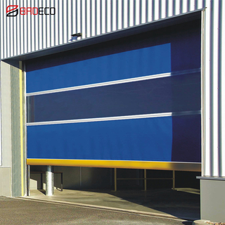 Industrial Automatic PVC Fabric Roll Up High Speed Door