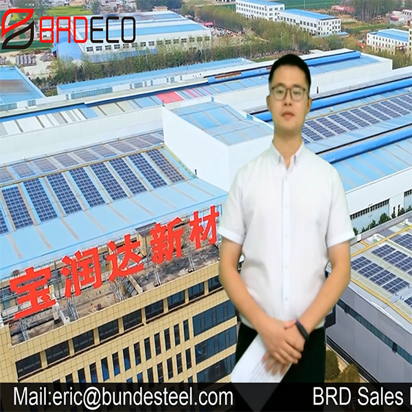 Live Show(Introduction of Sandwich Panel from BRD Group) by Manager Eric