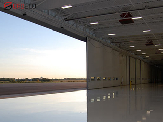Automatic Long Span Industrail Hangar Door