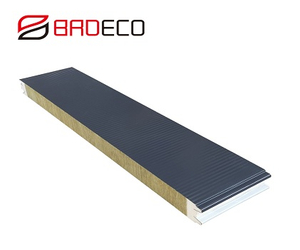 75mm Rock Wool Cold Room Panel