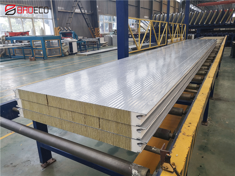 Rock-wool-sandwich-panels